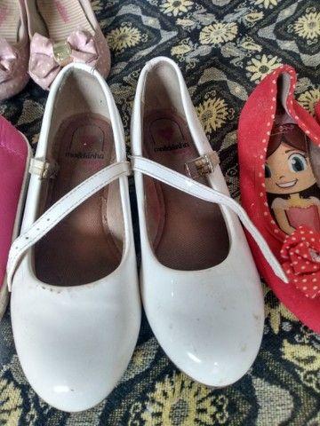 Vendo lote de sapatos pra menina  - Foto 4