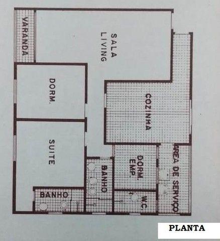 Apartamento para Venda em Santos, Ponta da Praia, 2 dormitórios, 1 suíte, 3 banheiros, 1 v - Foto 18