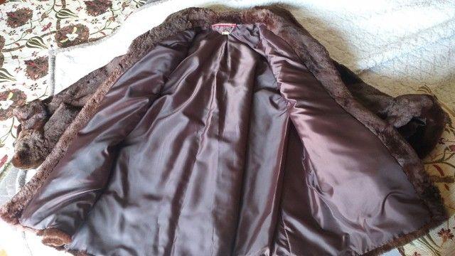 Casaco de pele feminino - Foto 3