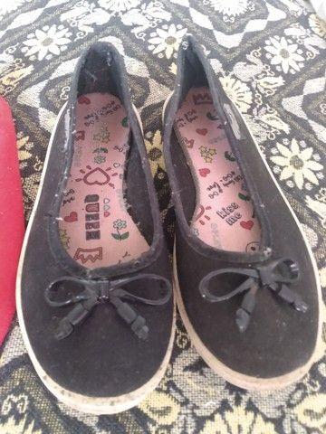 Vendo lote de sapatos pra menina  - Foto 2