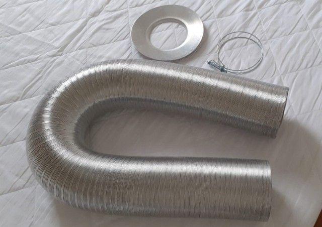 Duto para aquecedor a gás com presilha - Foto 2