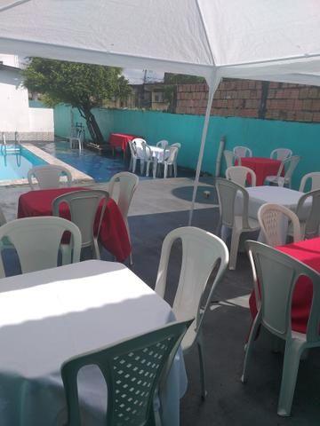Área para eventos com piscina - Foto 2