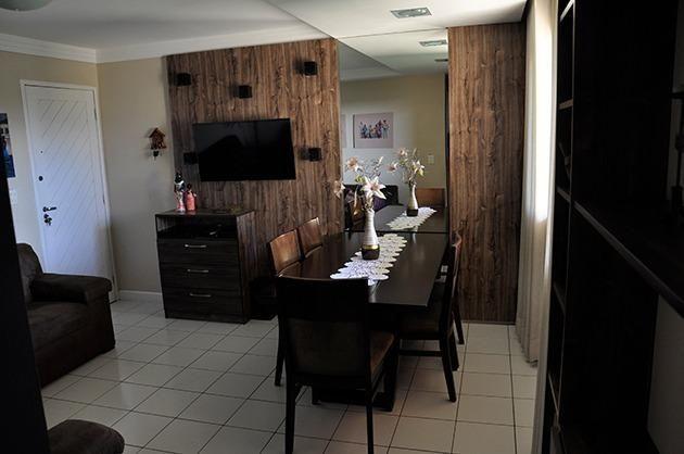Apartamento em Nova Parnamirim, 3 quartos sendo 1 suíte** projetados
