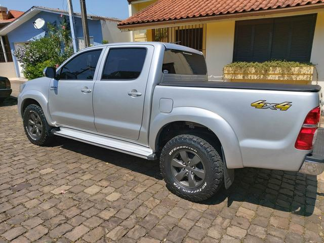 Toyota Hilux 2014 SRV 4x4 gasolina - Foto 3