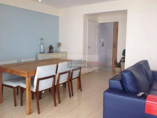Apartamento com 3 dormitórios à venda, 122 m² por r$ 660.000 - jardim das indústrias - são