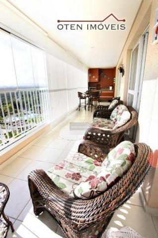 Apartamento com 4 dormitórios à venda, 156 m² por r$ 750.000 - jardim das indústrias - são - Foto 3