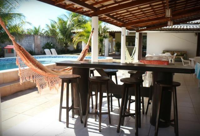 Novembro, feriado em casa de praia, com 5 quartos, piscina e churrasqueira - Foto 19
