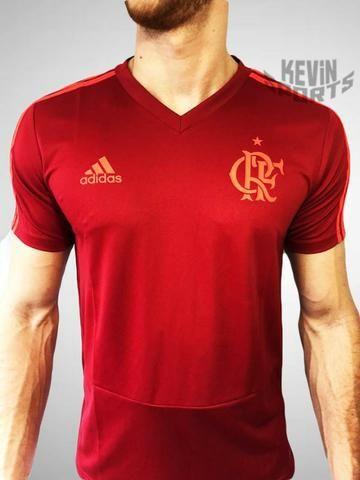 a47ad8f5f3203 Camisa de Treino Original Flamengo Adidas Vermelho - Roupas e ...