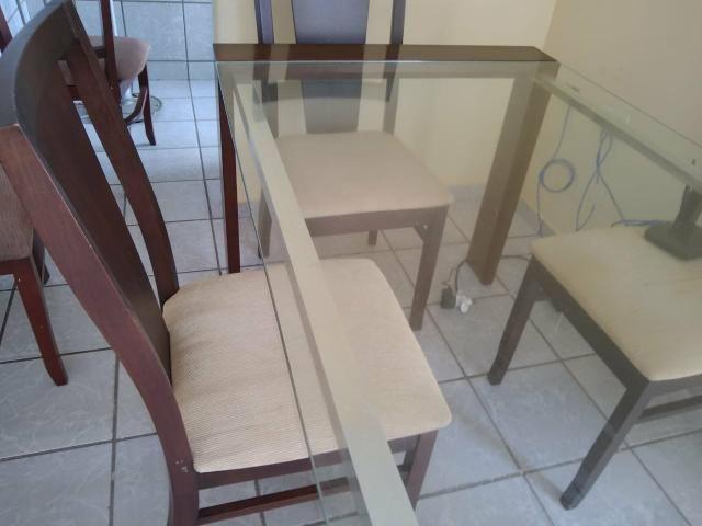 Vendo Mesa completa de Vidro