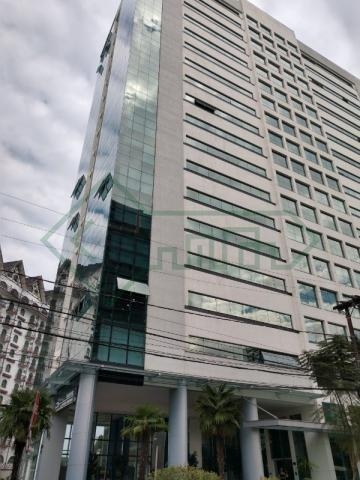 Sala comercial mobiliada   ed. helbor offices joinville - Foto 2