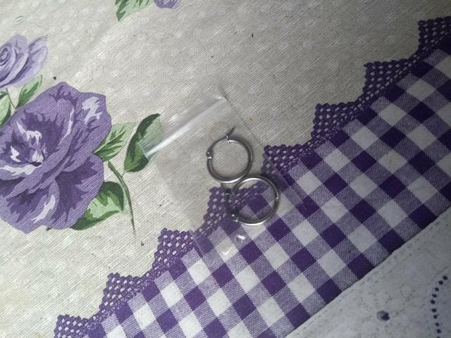 Brinco de argola unisex - Foto 3