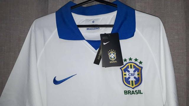 446c2f227513d Camisa nike brasil comemorativa copa américa 2019 jogador masculina ...
