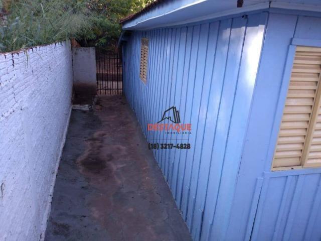Casa com 3 dormitórios para alugar, 48 m² por R$ 450,00/mês - Vila Brasil - Presidente Pru - Foto 7