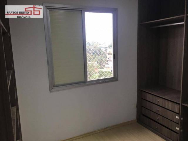 Apartamento com 3 dormitórios para alugar, 80 m² por R$ 2.200/mês - Barro Branco (Zona Nor - Foto 8