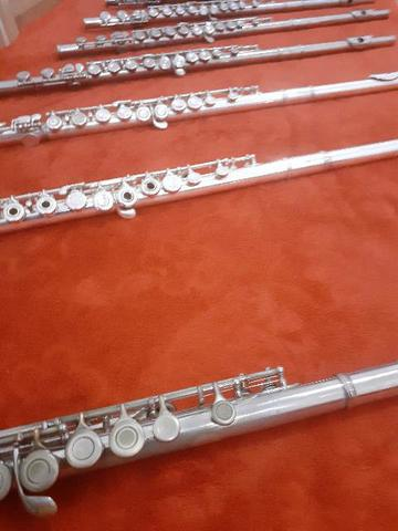Flautas Shelter,Eagle, Artley, Armstrong e outras - Foto 4