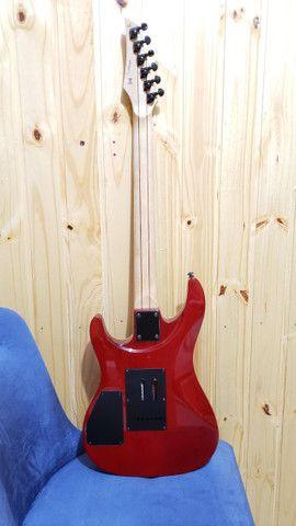 Guitarra Benson Custom Series Vermelho Translucido STX - Foto 2