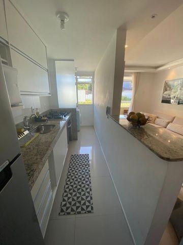 Apartamento 2 quartos sendo 1 suite opção mobiliado - Portal de Itaipu - Foto 4