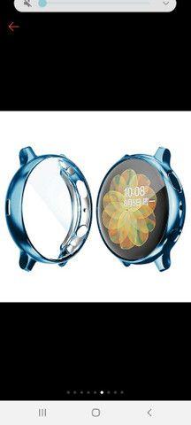 Case de proteção relógio Galaxy Watch Active 2 - Foto 4