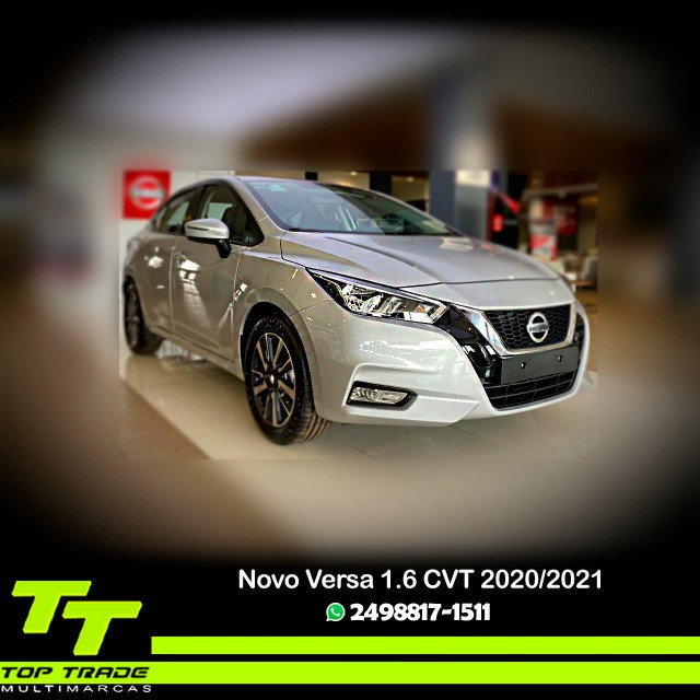 Novo Nissan Versa Advance 1.6 CVT 2021 0km