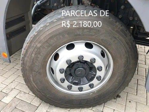 """Mercedes-Bens Axor 3344 2018 Munck Hyva Elevação 35 """"T"""" Entrada mais Parcelas com Serviço. - Foto 7"""
