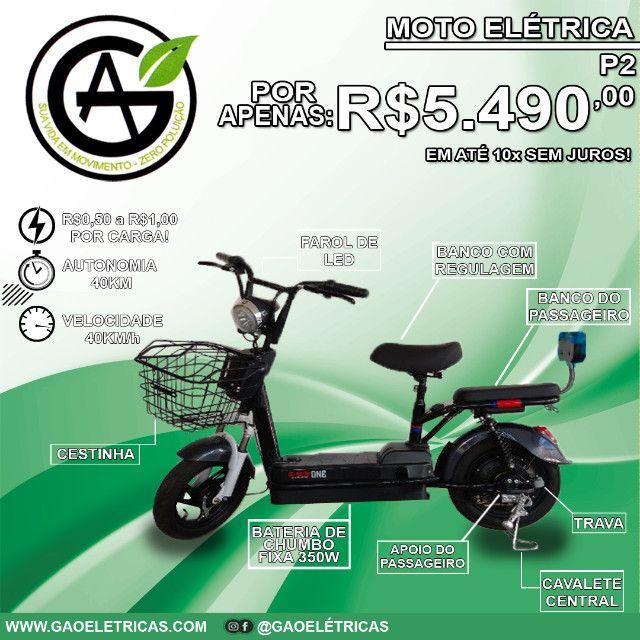 Moto Elétrica Pequena