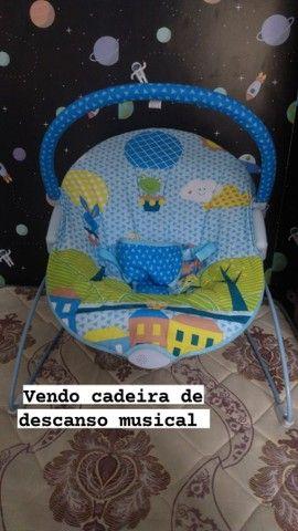 Vendo cadeira de descanso de bebê