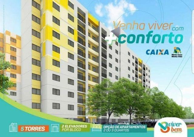 Apartamento no  condomínio clube Viver Bem, o mais completo de Caruaru - Foto 2