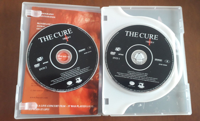 The Cure Triology DVD - Foto 3