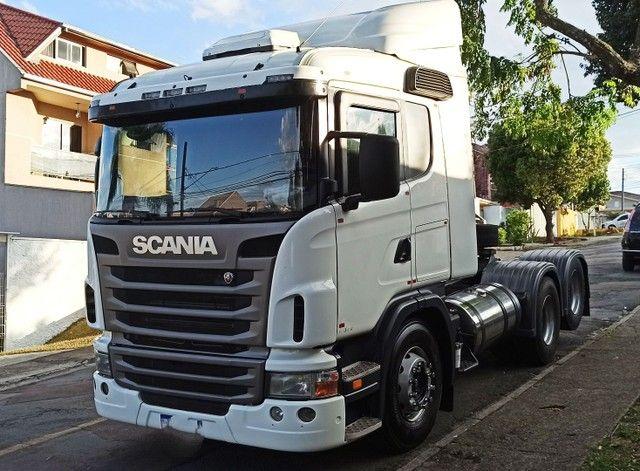 Scania 124 G420 - 2011 - Inteiro Revisado - Completo  - Foto 11