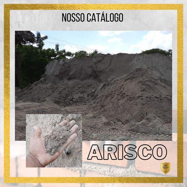 Areia fina, areia grossa, arisco, brita e pedra - Foto 2