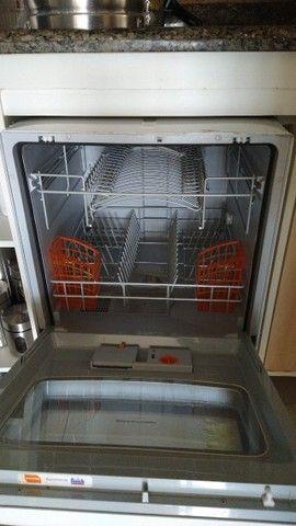 Lava, enxágua e seca louças -Brastemp, usada 1 vez, por R$ 750,00.  - Foto 5