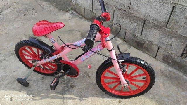 Vendo esta linda bicicleta infantil - Foto 4