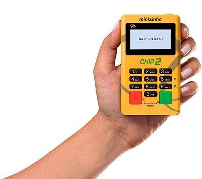 Maquina de Cartão Minizinha Chip - Foto 2