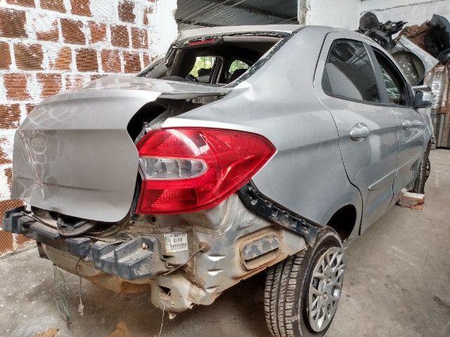 Sucata Ford sedan Ka 1.5 2017