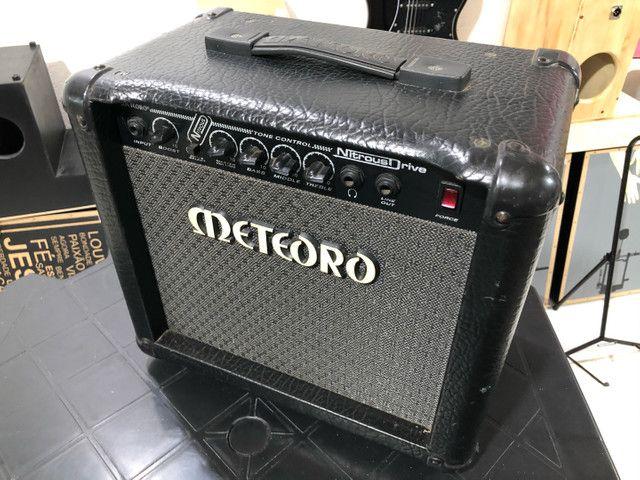 Amplificador para Estudar guitarra, Meteoro Nitrous Drive  - Foto 2