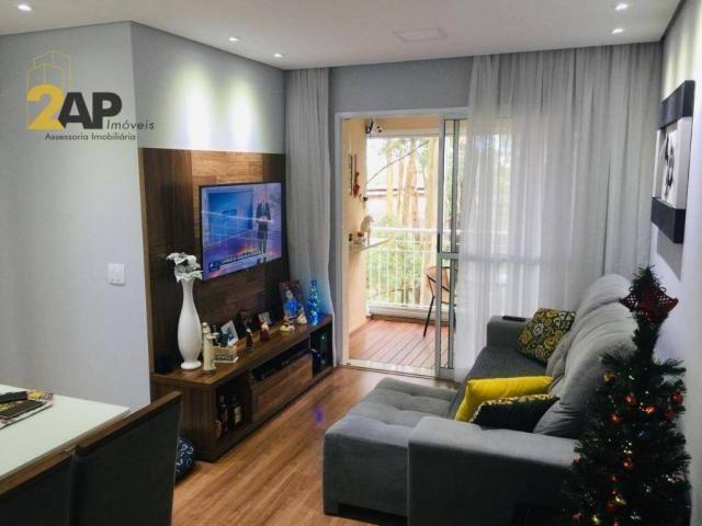 Apartamento à venda, 77 m² por R$ 399.000,00 - Conjunto Promorar Raposo Tavares - São Paul - Foto 2