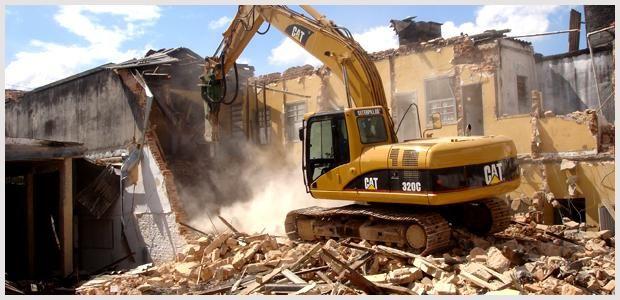 demolição e remoção