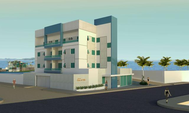 Apartamento de 2 quartos na praia do Coqueiro em Luis Correia-PI, a 50 metros da praia