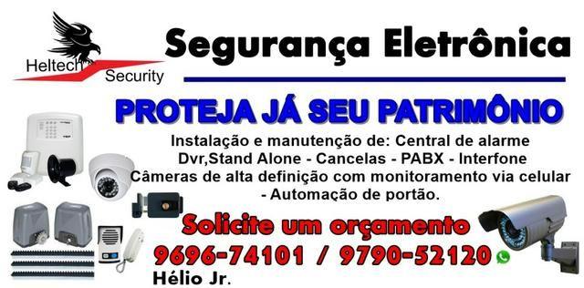 Segurança eletrônica - instalação , reparo e manutenção