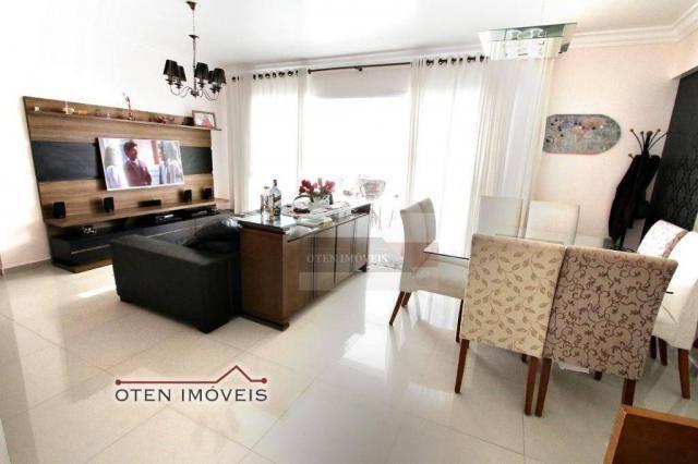 Apartamento com 4 dormitórios à venda, 156 m² por r$ 750.000 - jardim das indústrias - são