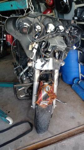 Moto P/ Retiradas De Peças/sucata Harley Davidson Flhtc 1600 - Foto 5