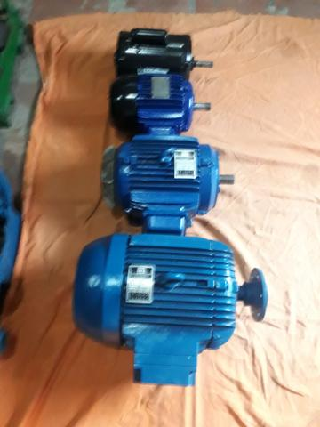 Motores Trifásico de 7,5CV 2 Alta e Baixa e 3CV de Alta