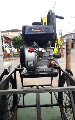 Máquina de moer cana (marca toyama motor a gasolina 4 tempos 0hv - Foto 2