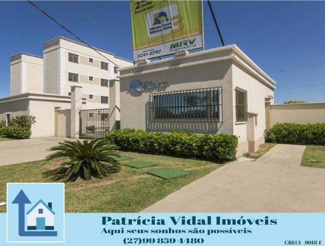 PRV-24 Apartamento 2 quartos lazer segurança 24hs, programa minha casa minha vida pronto