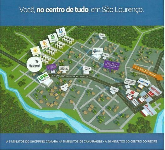 M Apartamento c 03 qts/01 Suíte em Sao Lourenço/Centro- Escritura Grátis - Foto 12