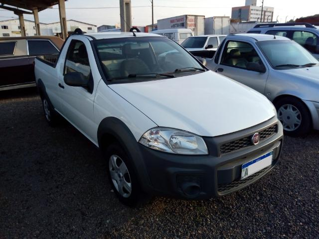 Strada cs 1.4 working, ar cond. dir hid. ve , te , abs, airbag, chave cópia, placa a 2015