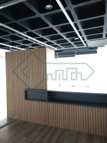 Sala comercial mobiliada   ed. helbor offices joinville - Foto 12