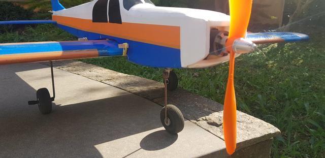 Aeromodelo Scout Asa Baixa completo - Foto 2