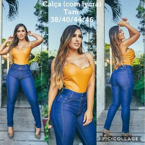 232893a0e Moda Feminina Jeans - Roupas e calçados - Pau Miúdo, Salvador ...