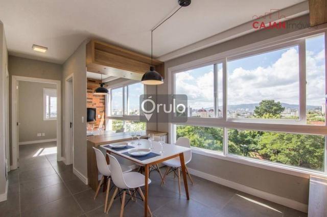 Apartamento com 2 dormitórios à venda, 61 m² por R$ 445.900,00 - São Sebastião - Porto Ale - Foto 4